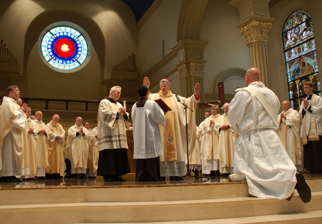 Louis Farley's ordination