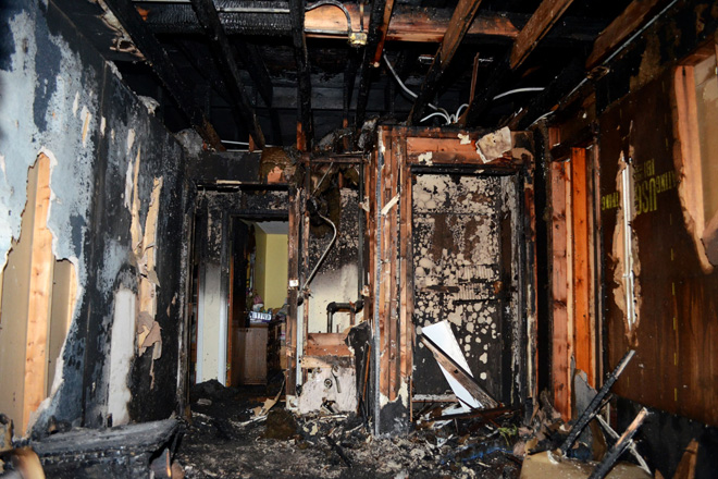 Fire Leaves Teenage Mothers And Their Babies Homeless