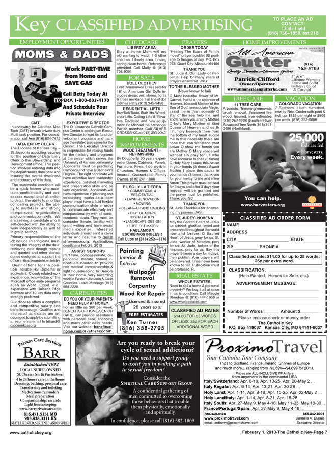 February 1, 2013 - Key Classifieds