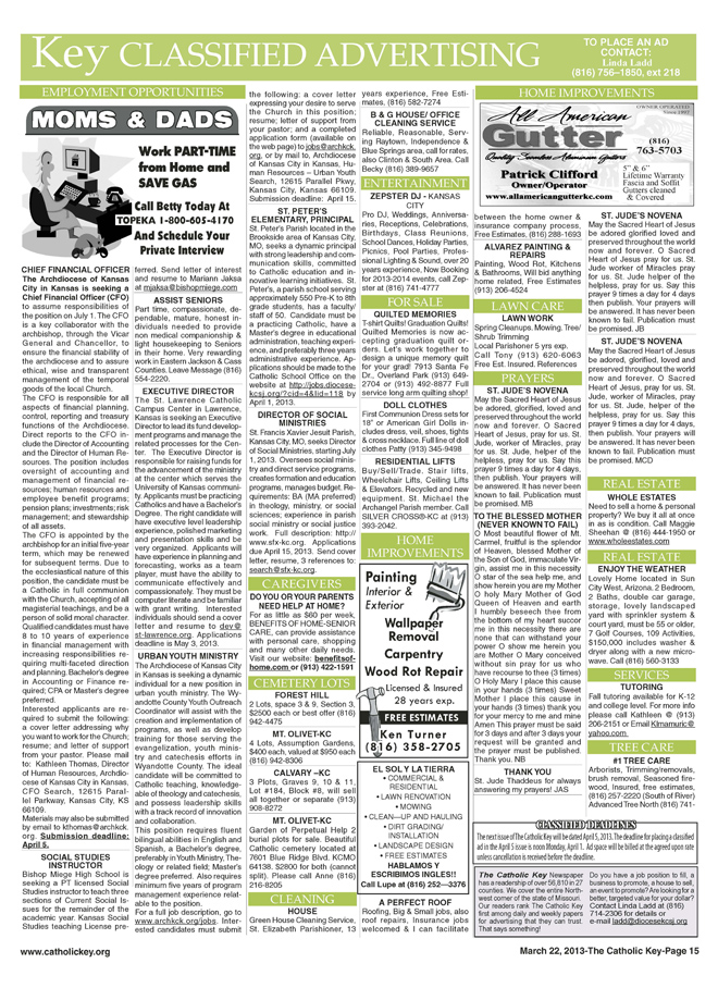 Key Classifieds - March 22, 2013