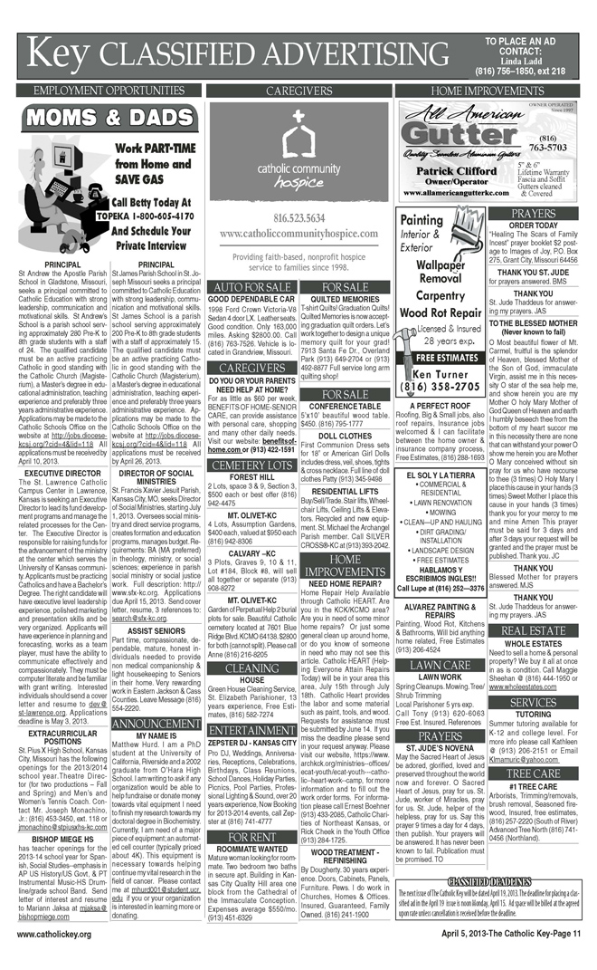 Key Classifieds - April 5, 2013 - page 2
