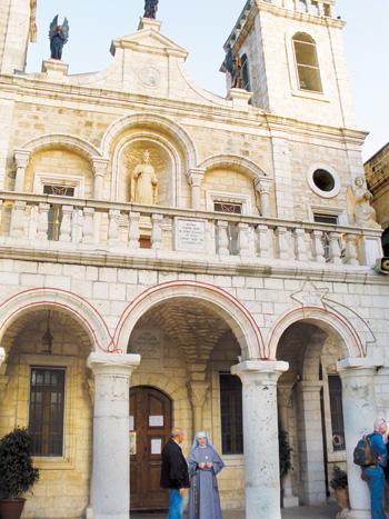The Catholic Church of the Wedding of Cana (Marty Denzer/Key photo)