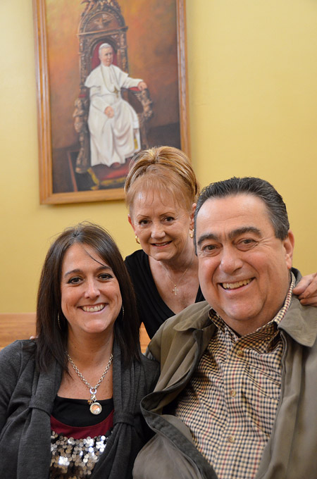 Larry Janacaro is alive today because of a kidney transplant from his daughter, Annette Shelton, and his wife Patti's unwavering belief in the power of prayer. (Kevin Kelly/Key photo)