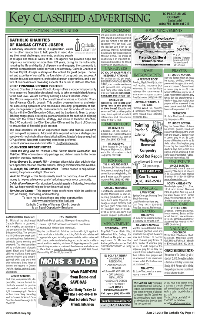 Key Classifieds - June 21, 2013, page 2
