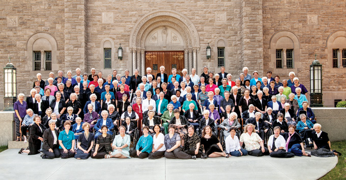 The Benedictine Sisters of Mount St. Scholastica (Photo courtesy of Roxs Stec Photography)