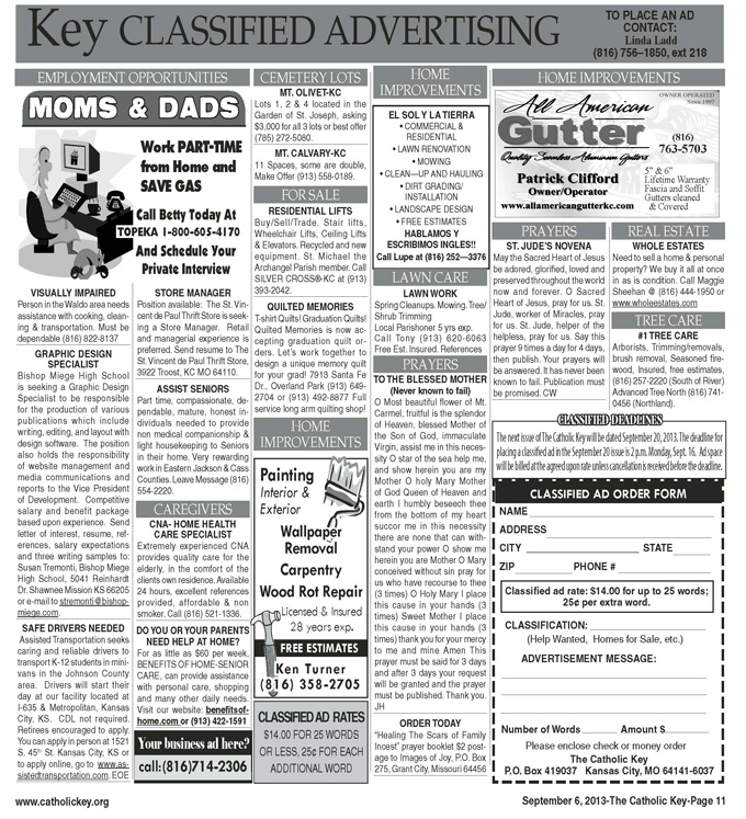 Key Classifieds - September 6, 2013