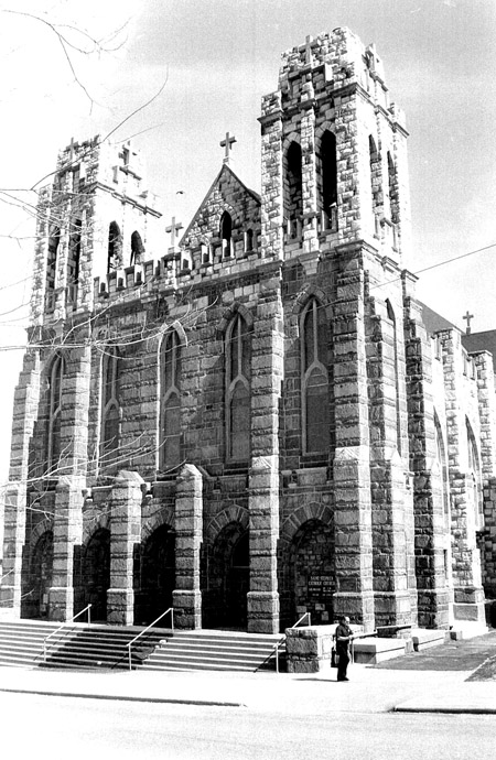 St. Stephen's Church, renamed Our Lady of Peace after the 1991 merger of St. Stephen's, St. Michael the Archangel, St. Stanislaus and Holy Trinity parishes. (Photo courtesy Diocesan Archives)