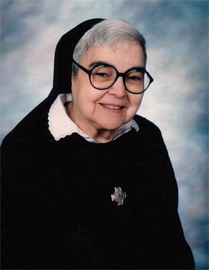 Sister Mary Natalia Barela, OSB