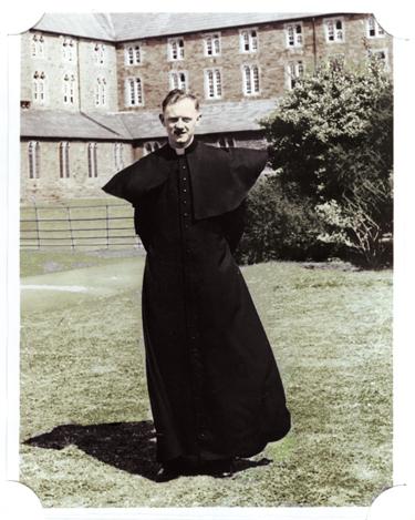 Newly ordained Father Raymond J. Boland.