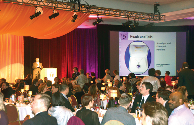 The annual Steer Dinner features silent and live auctions, student ambassadors and that grand old game, Heads and Tails. Proceeds benefit student scholarships to help more students attend Avila. This year, the funds raised at Steer Dinner totaled $773,100. (Marty Denzer/ Key Photo)