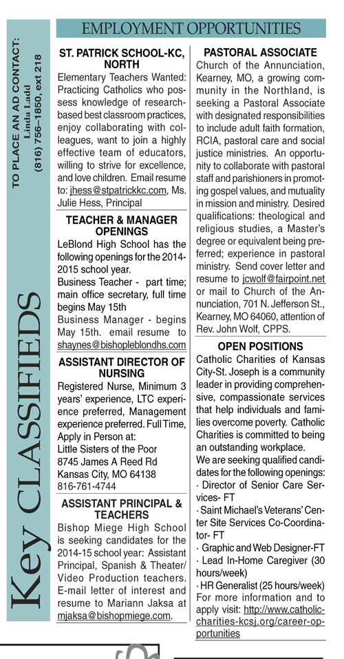 Key Classifieds - April 4, 2014