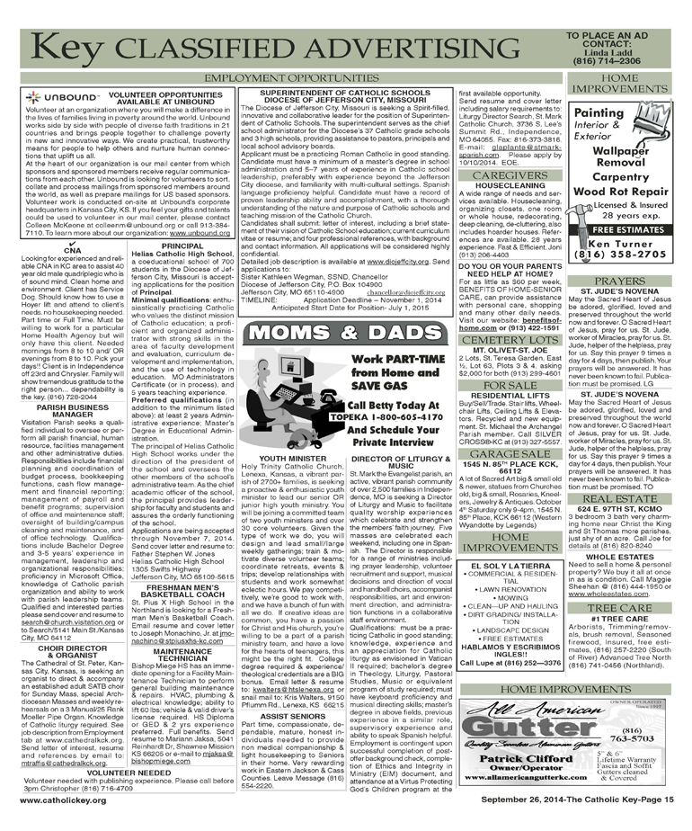 Key Classifieds, Sept. 26, 2014