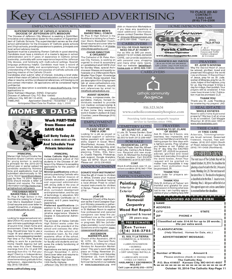 Key Classifieds - October 10, 2014