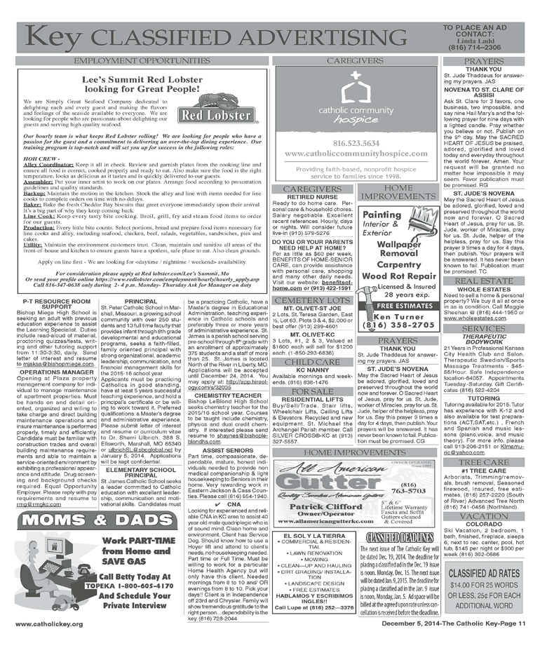 Key Classifieds - December 5, 2014