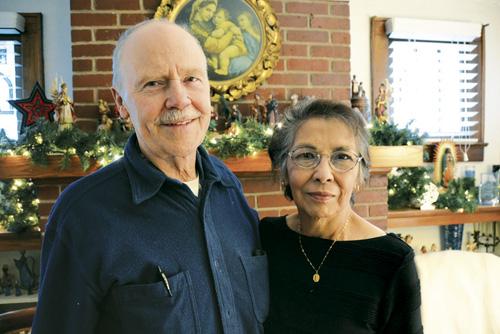 Deacon Tom and Linda Powell. (Kevin Kelly/Key photo)