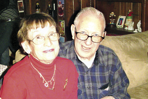 Martha and Jim Vetter, shown here in 2009, died within 20 minutes of each other on Jan. 1. The couple shared life and love for almost 60 years. (Photo courtesy Jamaine M. Abidogun)