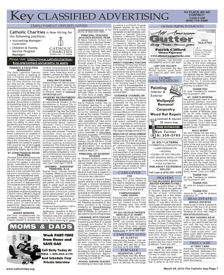 Key Classifieds - March 20, 2015
