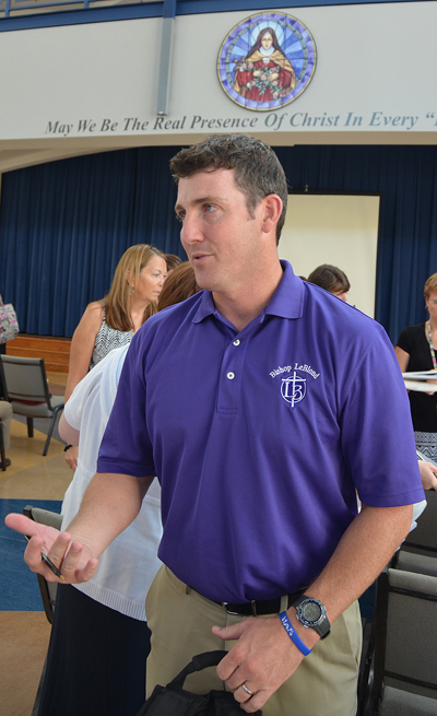 Jeff Sullilvan, new principal at Bishop LeBlond High School in St. Joseph. (Kevin Kelly/Key photo)