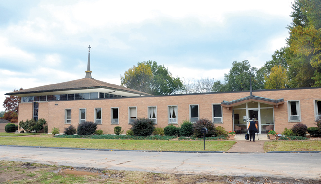 The Central Offices of Catholic Charities of Southern Missouri, a former Carmelite convent in Springfield, houses both the agency's administrative offices and LifeHouse Crisis Pregnancy Maternity Home. It is one of the five regional offices of the agency.