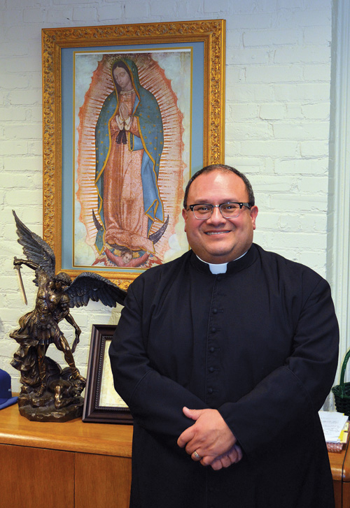 Father Richard Rocha, President of St. Michael the Archangel High School. (Joe Cory/Key photo)