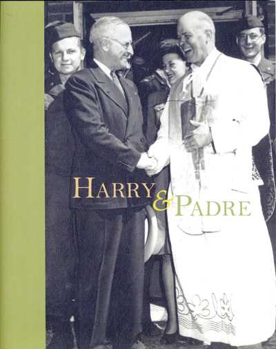 Research acquaints local personal historian with great-uncle, priest and Truman's friend. (Photo (book cover)/courtesy Lili Bliss Shank)