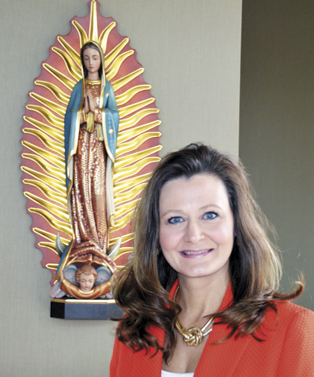 Jodie Maddox is excited to take the reins as the first principal of St. Michael the Archangel High School. She will begin work with Father Richard Rocha, president of the high school effective July 1. (Marty Denzer/Key photo)