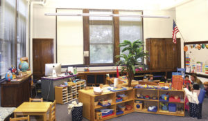 One of the new Montessori classrooms at Sion Grade School.