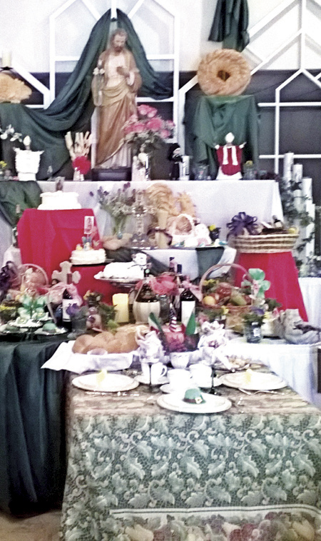 The St. Joseph Table at St. Robert Bellarmine Parish, Blue Springs.