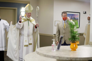 St. Anthony's Retirement Community dedicated and blessed