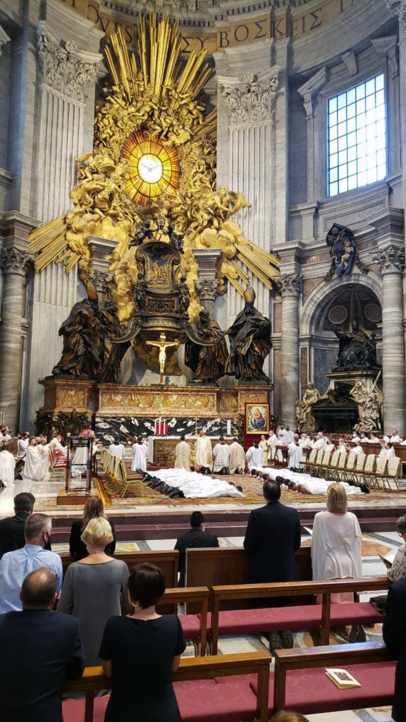 Diocese of Kansas City-St. Joseph seminarian ordained deacon in Rome, 20 total ordained